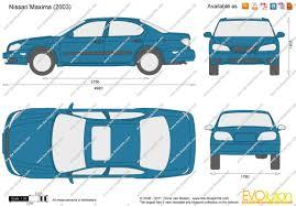 maxima nissan 2000 the blueprints com vector drawing nissan maxima