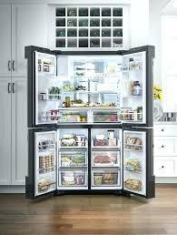 cabinet depth refrigerator lowes lowes french door refrigerator door kitchen kitchen