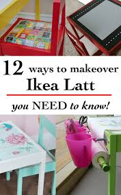 Ikea Kids Table Pink Ikea Latt Table And Chair Hacks 12 Ways To Do It Anika U0027s Diy Life