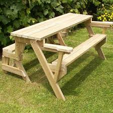 Make A Picnic Table Free Plans by Best 25 Folding Picnic Table Bench Ideas Only On Pinterest