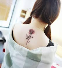 tattoo flower rose back tattoo tattoo for women nature flowers