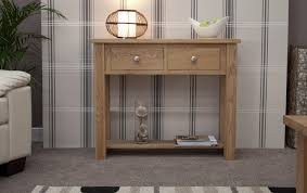 Narrow Hallway Table by Kingston Solid Oak Hallway Furniture Small Console Hall Table Ebay