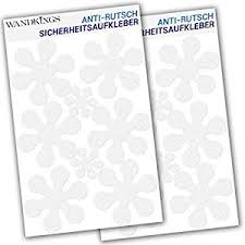 Bathtub Stickers Anti Slip Decals 12 Flowers At 10 Cm 4 Flowers At 5 Cm For