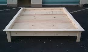 Mattress For Platform Bed - customize it hawaii platform beds the aloha boy