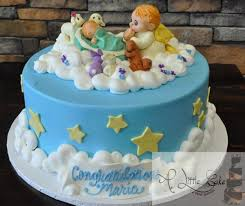 Angel Decorations For Baby Shower Amazing Baby Shower Cake Ideas