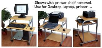 Small Laptop And Printer Desk Computer Desk Sts 5801a