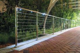 Steel Banister Rails Nautilus