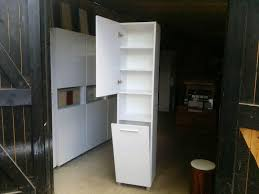 Laundry Sorter Cabinet Laundry Cabinet Simple White Cabinet System For A Modern Laundry
