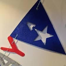 Captain America Decor Felt Birthday Flag Captain America Banner Kids Baby Birthday Party