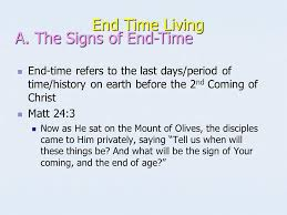 end time living ppt download