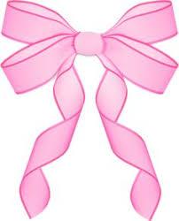 pink bows pink bow ribbon clipart