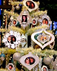 Christmas Ornament With Photo Picture Frame Ornaments U0026 Video Martha Stewart