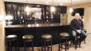 lower level goes upper crust basements designed for quality