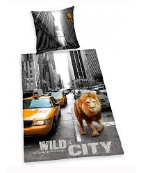 New York City Duvet Cover And Dangerous City New York Cotton Duvet Cover U0026 Pillowcase Set