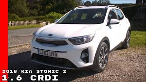 2018 kia stonic 2 1 6 crdi uk spec interior walkaround test