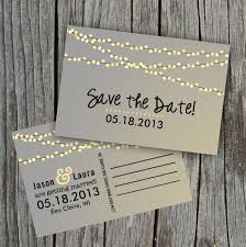 cheap save the date postcards save the date postcard string of lights repinned by www