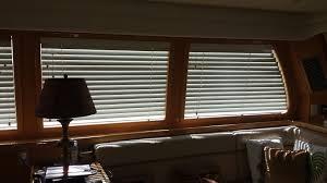 Of Michigan Curtains Blinds Wood Curved Window Mckinna Er Blinds Custom Made Venetian