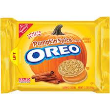 Halloween Cookie Gifts Nabisco Oreo Pumpkin Spice Creme Sandwich Cookies 12 2 Oz