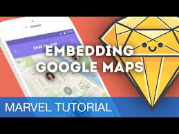 embedding google maps in marvel prototypes sketch talk