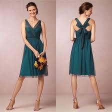 knee length bridesmaid dresses discount teal knee length bridesmaid dresses 2017 knee length