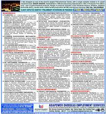 free recruitment for al jubail industrial zone ksa gulf jobs