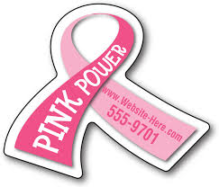 custom awareness ribbons pink awareness magnets the best custom gifts for breast cancer