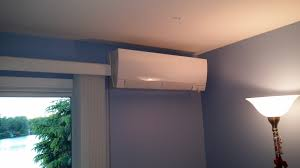 mitsubishi hyper heating indoor wall mount unit installed by