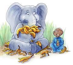 fun elephant facts the banana police