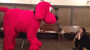 Clifford Big Red Dog Halloween Costume Project Clifford U2014 Puppet Kitchen Productions