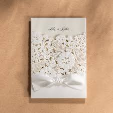 wedding invitations knot wedding invitations cards with envelopes seals white hollow