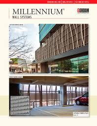 Aluma Shield Wall Panels by Millennium Wall Systems Gordon Pdf Catalogues