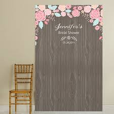 wedding backdrop photo booth custom printed rustic wood trough wine chiller backdrops