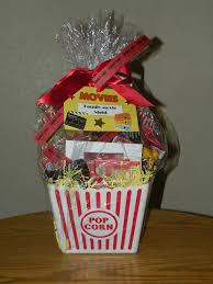 popcorn gift baskets 34 best auction baskets images on college grad gifts