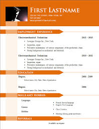 Geologist Resume Template Free Cv Templates 646 To 652 U2013 Free Cv Template Dot Org