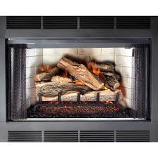 2362in 50000btu dual vented gas fireplace logs golden blount