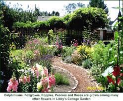 Cottage Garden Layout Defining Your Home Garden And Travel Garden Inspiration A