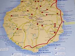 San Sebastian Spain Map by Large Gran Canaria Maps For Free Download And Print High
