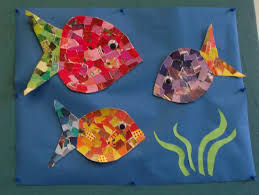 simple and easy paper collages for kids art project ideas and