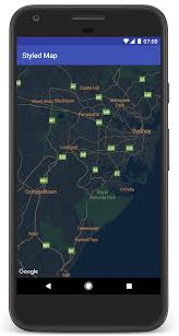 Map My Route Google by Adding A Styled Map Google Maps Android Api Google Developers