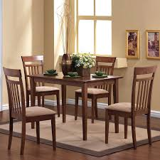 coaster dining room sets coaster eldridge casual dining table with weathered table top and