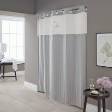 Shower Curtains In Walmart Coffee Tables Hookless Shower Curtain With Snap In Liner Sheer
