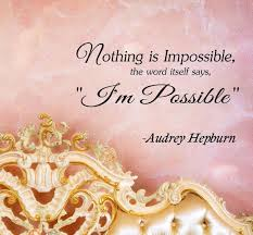 Inspirational Quotes Decor For The Home Amazon Com 3 Nothing Is Impossible The Word Itself Says
