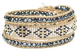 beaded wrap bracelet images Nina simone beaded wrap bracelet boho betty usa jpg