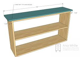 Plans For A Simple End Table by Best 25 Bookshelf Plans Ideas On Pinterest Bookcase Plans