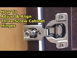 how do i adjust cabinet hinges how to align cabinet doors by adjusting 3 european cabinet hinges