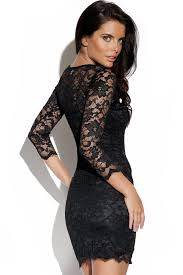 Black Cocktail Dresses With Sleeves Long Sleeve Black Cocktail Dress Oasis Amor Fashion