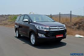 innova 2017 toyota fortuner and innova crysta prices hiked motoroids