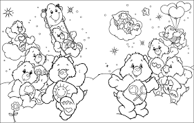 care bears coloring sheets interest care bears coloring books