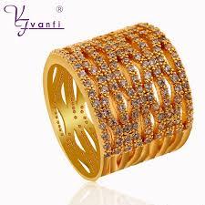 long rings design images New design long full finger rings for women gold and silver color jpg