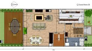draw a floor plan free sweet home 3d draw floor plans and arrange furniture freely